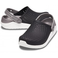 Crocs Kids' LiteRide Clog Black/White арт.00207