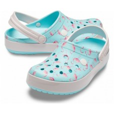 Crocs Crocband Ice Blue/White арт. 00034