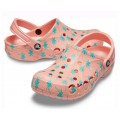 Crocs Classic Pink Palm Clogs арт.00093
