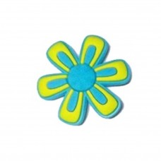 Jibbitz Blue and Yellow Daisy арт. 006