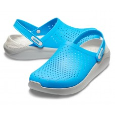 Crocs LiteRide Clog Blue/White арт. 00064