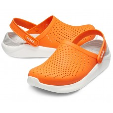 Crocs LiteRide Clog Orange/White арт. 00210